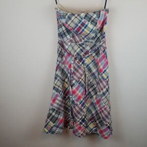 American Eagle Outfitters Plain Strapless Dress